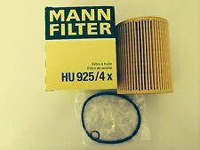 BMW E39 520 523 525 528 530 i ENGINE OIL FILTER 11427512300 HU925/4X MANN HUMMEL