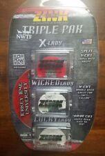 ZINK CALLS TRIPLE PAK DIAPHRAGM TURKEY CALLS X-Lady, Wicked & Lucky Lady