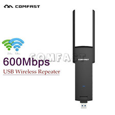 600 Mbit Wifi Repeater 2.4G/5GHz WLAN Verstärker Amplifier Dual Antenna CFDE