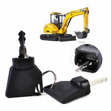 For JCB Ignition Key Start Start Switch Cover Lock Excavator Digger Plant Keys