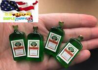 1/6 4 x bottles Jager Wine alcohol toy model for Hot toys Phicen ganghood ❶USA❶