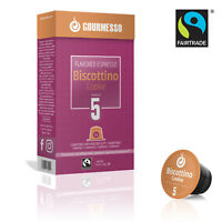Gourmesso Biscottino Cookie - 50 Nespresso Compatible Coffee Capsules $.45/pod