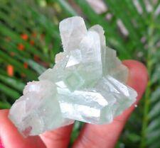 Green Apophyllite Crystals  Minerals Specimen #A43