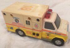 Vintage Collectible 1992 FUNRISE  Emergency Medical Ambulance Vehicle