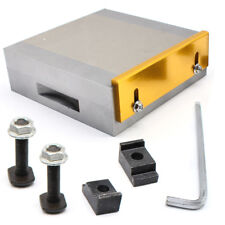 150x150mm Magnetspannplatte Magnetfutter permanente Spannplatte Magnettisch