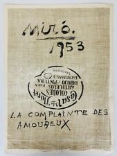 Derriere Le Miroir 57-58-59 Joan Miro 3 Original Lithographs 1953 Maeght DLM
