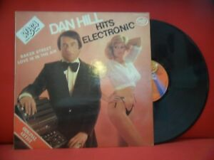 DAN HILL Hits Electronic LP RARE SEXY EROTIC 70s HITS ORGAN COVERS CHEESECAKE