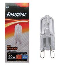 1 x Energizer G9 Eco 33W 40W Halogen Capsule Bulb 460 Lumen 220V Lamp Warm White