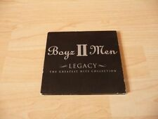 CD Boyz II Men - The Greatest Hits Collection - Legacy - 2001 - 13 Songs