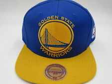 Golden State Warriors OG Retro Vintage Mitchell & Ness NBA Snapback Hat Cap