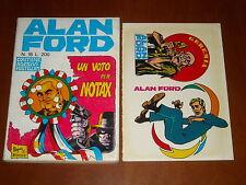 ALAN FORD n. 16 - UN VOTO PER NOTAX - ADESIVI - OTTIMO++++ - Magnus & Bunker '70