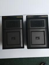 Vintage  pioneer S-313X FS speakers. Black. Max 60 watts. Used.