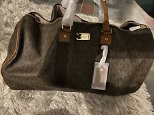 Michael Kors Duffle Brown
