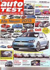 auto test 10/12 Alle Neuen 2013/Mercedes A 180/BMW 116i/Volvo V40/Superb /2012