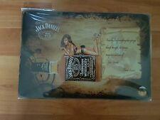 BRAND NEW Jack Daniel's Old No7 Girl On Bottle Metal Sign -UK Seller