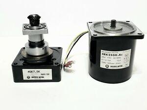Oriental Reversible Motor 4RK25GK-A2 100V 50/60 Hz & Oriental Motor 4GK7.5K