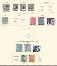 New South Wales^1890-99 Rarer Classics on page $ 83.00@ sc410xxbnsw10xx
