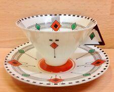 "Shelley Vogue Shape ""Diamonds"" Pattern 11772 Tea Cup & Saucer."