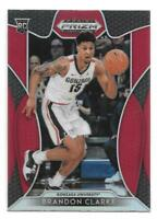Brandon Clarke Rookie 2019-20 Prizm Draft Picks RED Prizm Memphis Grizzlies RC