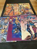 10TH MUSE - Lot N° 1 à 5 - Image Semic Comics