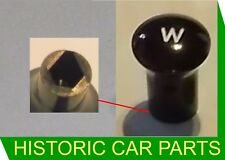 Morris Minor 1000 (chassis 448801 on) 1956-72 - WIPER Switch KNOB with W Icon
