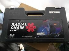 SCC Radial Cable Tire Chains Snow Chains NEW IN BOX Made In Oregon, U.S.A.