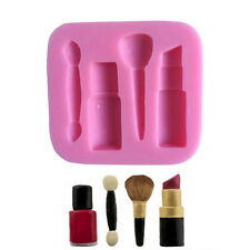 Silicone Makeup Tools Mould Chocolate Fondant Cake Candy Baking Mold Accessories