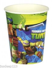 Teenage Mutant Ninja Turtles 8 Cups (TMNT Birthday Party Tableware Decoration