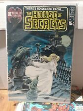 House of Secrets #88 Neal Adams Painted Cvr Marv Wolfman DC Comics 1970🔑