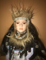 Native American Indian Lim.Ed. with Certificate of Authenticity Collection dolls