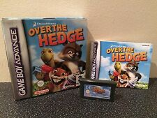 Over The Hedge - Nintendo Gameboy Advance Game - Boxed With Manual GBA