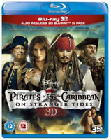 Pirates Of The Caribbean - On Stranger Tides 3D+2D Blu-Ray Nuevo (BUY01967