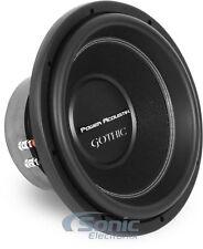 """Power Acoustik GW3-12 12"""" 2500W Dual 2 ohm Gothic Series Car Subwoofer"""