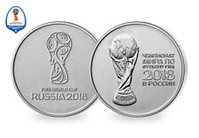Own two of the Official 2018 FIFA World Cup™ Commemorative Coins [Ref: 174G]