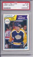 1983-84 O-Pee-chee Larry Murphy #159 PSA 8 NM-MT