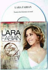 "LARA FABIAN - CD PROMO "" TEST-PRESSING"" ""TOUTES LES FEMMES EN MOI"""