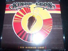 Kings Of Leon Red Morning Light EU Promo CD Single – Like New