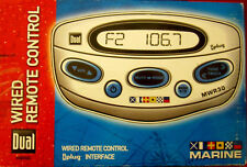 Dual MWR30 Marine Wired Remote Control - Works with the Dual MXDM70 head unit