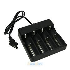 4 Slot 2019 Smart Battery Charger IMR/Li-ion/Ni-MH/Ni-Cd 18650/16340 AA US Plug