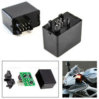 7-Pin Electronic LED Flasher Relay Hyper Flash Fix For Turn Signal Blinker Bulbs