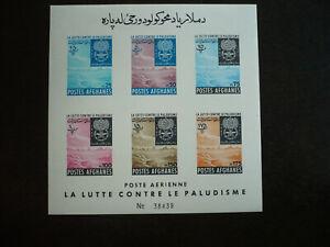 Stamps - Afghanistan - Scott# 593a - Souvenir Sheet - Imperf