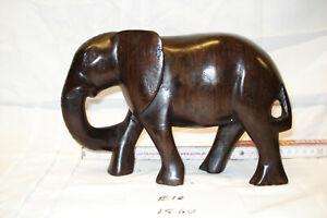 Elefant Ebenholz Figur Handarbeit 1,5 kg Südafrika Groß geschnitzt