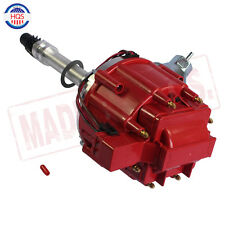 Red Cap HEI Distributor w/ 65K Coil  For Chevy GM Small Block Big Block
