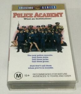 Police Academy VHS Collectors Series