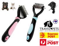Dog Cat Pet Fur Dematting Grooming Deshedding Trimmer Tool Comb Brush Blade Fun