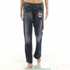 Stonewashed Boot Cut Jeans for Women