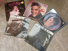 Elvis Presley - Lot Of 5 Vinyl LPs, Still Sealed