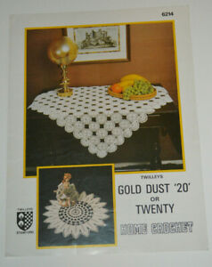 crochet pattern tablecloth or doily