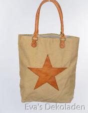 Damentaschen aus Leder mit Innentasche (n) ohne Verschluss
