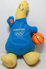 OLYMPICS ATHENS 2004 12'' PHEVOS OFFICIAL MASCOT PLUSH DOLL SOUND DOES NOT WORK